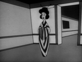 Screenshots from the 1945 Warner Brothers cartoon Tokyo Woes
