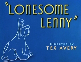 Screenshots from the 1946 MGM cartoon Lonesome Lenny