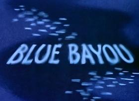 Screenshots from the 1946 Disney cartoon Blue Bayou