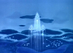 Screenshots from the 1946 Disney cartoon Without You