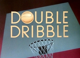 Screenshots from the 1946 Disney cartoon Double Dribble