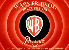 Screenshots from the 1946 Warner Brothers cartoon Book Revue