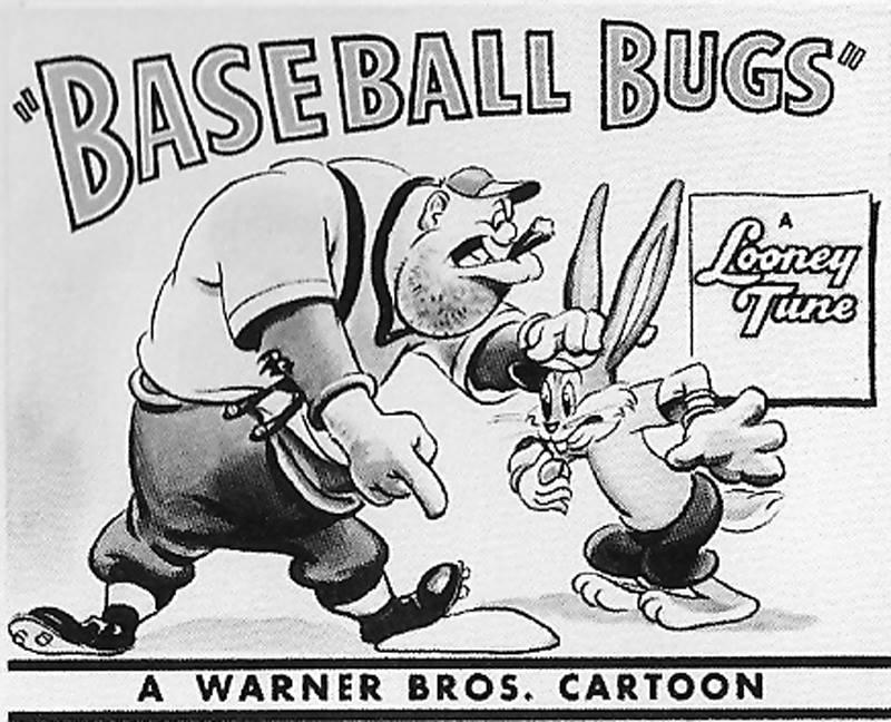 Baseball Bugs 1946 The Internet Animation Database