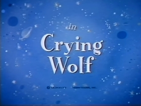Screenshots from the 1947 Terrytoons cartoon Crying Wolf