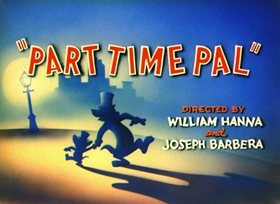Screenshots from the 1947 MGM cartoon Part Time Pal