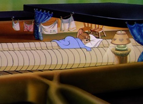 Screenshots from the 1947 MGM cartoon The Cat Concerto