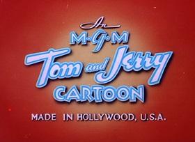 Screenshots from the 1947 MGM cartoon Salt Water Tabby