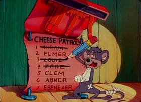 Screenshots from the 1947 Paramount / Famous Studios cartoon Naughty But Mice