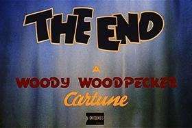 Screenshots from the 1947 Walter Lantz cartoon Woody the Giant Killer