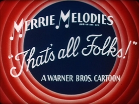 Screenshots from the 1947 Warner Bros. cartoon One Meat Brawl