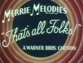 Screenshots from the 1947 Warner Bros. cartoon Along Came Daffy