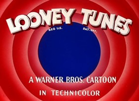 Screenshots from the 1947 Warner Brothers cartoon Easter Yeggs