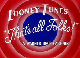 Screenshots from the 1947 Warner Brothers cartoon Crowing Pains