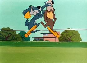 Screenshots from the 1947 Warner Brothers cartoon House Hunting Mice