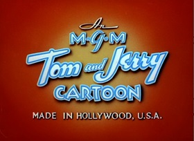 Screenshots from the 1948 MGM cartoon Kitty Foiled