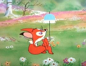 Screenshots from the 1948 MGM cartoon Little