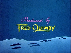 Screenshots from the 1948 MGM cartoon The Bear and the Hare