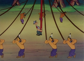 Screenshots from the 1948 Paramount / Famous Studios cartoon Wigwam Whoopee