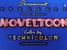 Screenshots from the 1948 Paramount / Famous Studios cartoon The Old Shell Game
