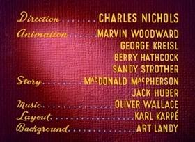 Screenshots from the 1948 Disney cartoon Mickey Down Under