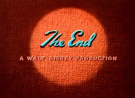 Screenshots from the 1948 Disney cartoon Daddy Duck