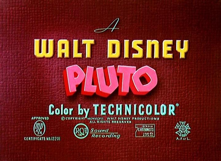 Cat Nap Pluto (1948) -...