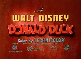 Screenshots from the 1948 Disney cartoon Three for Breakfast
