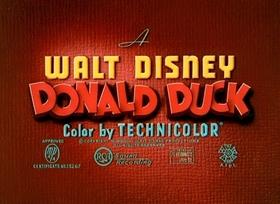 Screenshots from the 1948 Disney cartoon Tea for Two Hundred