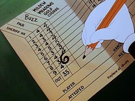 Screenshots from the 1948 Walter Lantz cartoon Wild and Woody