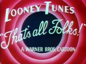 Screenshots from the 1948 Warner Bros. cartoon What