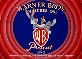 Screenshots from the 1948 Warner Brothers cartoon Buccaneer Bunny