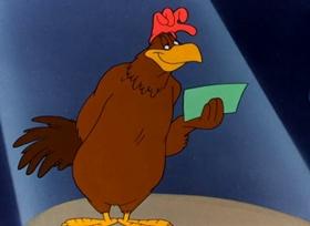 Screenshots from the 1948 Warner Bros. cartoon You Were Never Duckier
