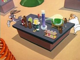 Screenshots from the 1948 Warner Bros. cartoon Hot Cross Bunny