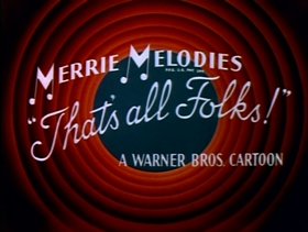 Screenshots from the 1948 Warner Brothers cartoon Hot Cross Bunny