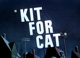 Screenshots from the 1948 Warner Brothers cartoon Kit For Cat