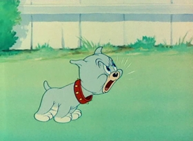 Screenshots from the 1949 MGM cartoon Love That Pup