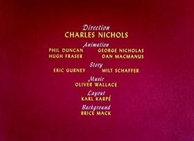 Screenshots from the 1949 Disney cartoon Pluto