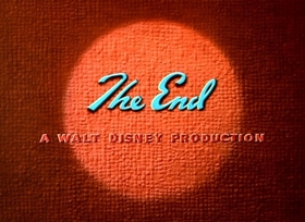Screenshots from the 1949 Disney cartoon The Greener Yard