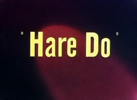 Screenshots from the 1949 Warner Brothers cartoon Hare Do