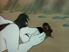 Screenshots from the 1949 Warner Brothers cartoon Henhouse Henery