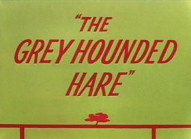 Screenshots from the 1949 Warner Brothers cartoon The Grey Hounded Hare