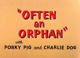 Screenshots from the 1949 Warner Brothers cartoon Often an Orphan