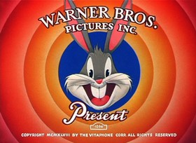 Screenshots from the 1949 Warner Brothers cartoon The Windblown Hare
