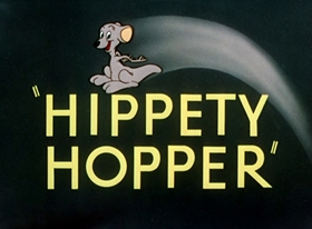 Screenshots from the 1949 Warner Brothers cartoon Hippety Hopper