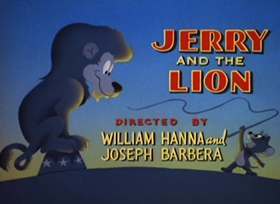 Screenshots from the 1950 MGM cartoon Jerry and the Lion