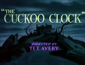 Screenshots from the 1950 MGM cartoon The Cuckoo Clock