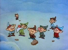 Screenshots from the 1950 MGM cartoon The Peachy Cobbler