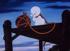Screenshots from the 1950 Paramount / Famous Studios cartoon Casper