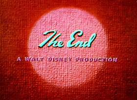 Screenshots from the 1950 Disney cartoon Pluto
