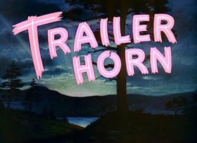 Screenshots from the 1950 Disney cartoon Trailer Horn